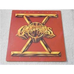 Commodores - Heroes LP Vinyl Record For Sale