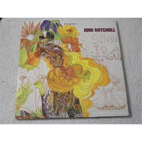 Joni Mitchell - Song To A Seagull LP Vinyl Record For Sale