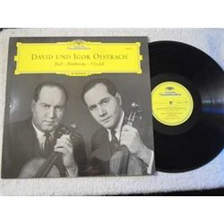 David And Igor Oistrach - Bach | Beethoven | Vivaldi LP Vinyl Record For Sale