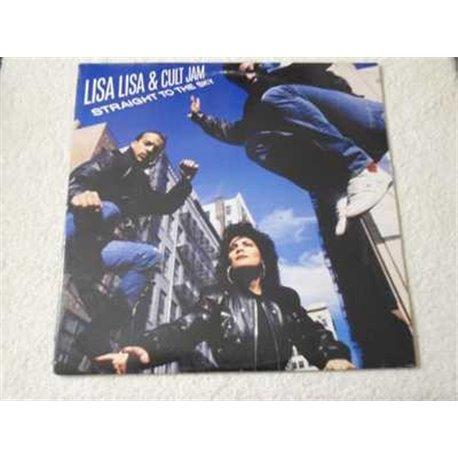 Lisa Lisa & Cult Jam - Straight To The Sky LP Vinyl Record For Sale