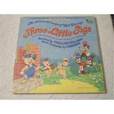 Walt Disney - Three Little Pigs Storybook LP Vinyl Record For Sale