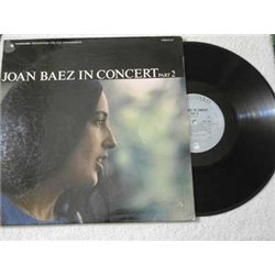 Joan Baez - In Concert Part 2 LP Vinyl Record For Sale