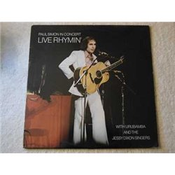 Paul Simon - In Concert Live Rhymin' LP Vinyl Record For Sale
