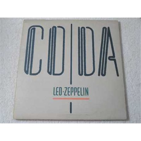 Led Zeppelin - CODA LP Vinyl Record For Sale