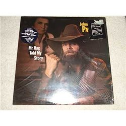 Johnny Paycheck - Mr. Hag Told My Story LP Vinyl Record For Sale