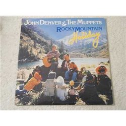 John Denver & The Muppets - Rocky Mountain Holiday LP Vinyl Record For Sale