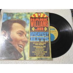 Hank Williams Jr - Greatest Hits LP Vinyl Record For Sale