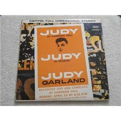 Judy Garland - Live At Carnegie Hall 2xLP Vinyl Record For Sale
