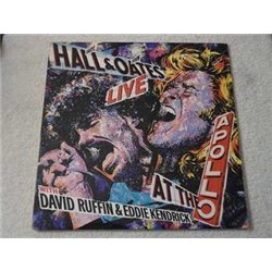 Hall & Oates - Live At The Apollo LP Vinyl Record For Sale