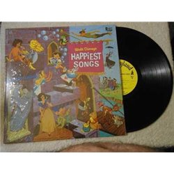 Walt Disney - Walt Disney's Happiest Songs LP Vinyl Record For Sale