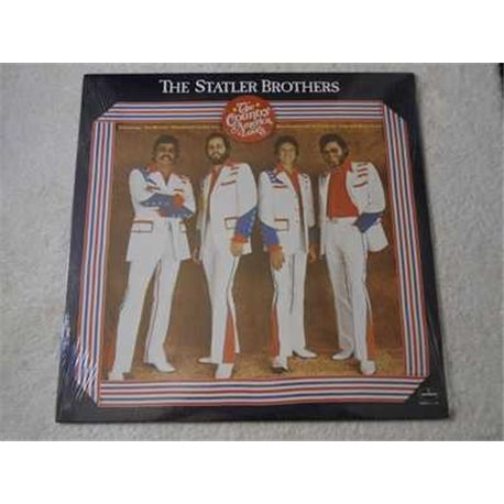 Statler+Brothers+Country+America+Loves+LP+Vinyl+Record