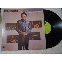 Merle Haggard - Okie From Muskogee LP Vinyl Record For Sale