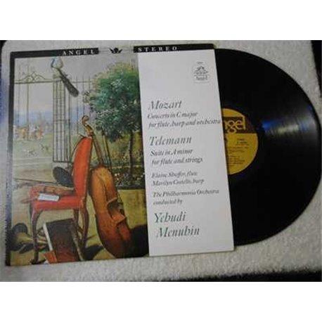 Yehudi+Menuhin+Mozart+Telemann+Suite+LP+Vinyl+Record