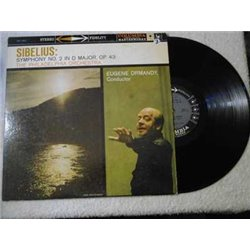 Eugene Ormandy - Sibelius Symphony No. 2 LP Vinyl Record For Sale