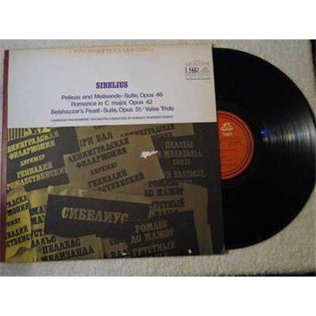 Sibelius+Pelleas+Melisande+LP+Vinyl+Record
