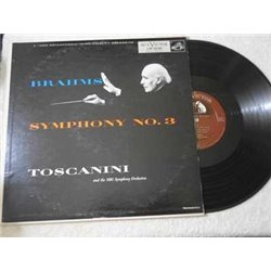 Brahms+Tuscanini+Symphony+No+3+LP+Vinyl+Record