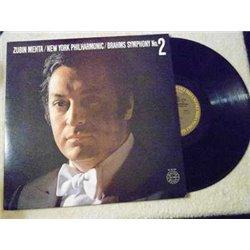 Zubin+Mehta+Brahms+Symphony++LP+Vinyl+Record