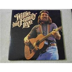 Willie Nelson - Willie And Family Live LP Vinyl Record For Sale