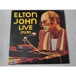 Elton John - Live 17-11-70 IMPORT LP Vinyl Record For Sale