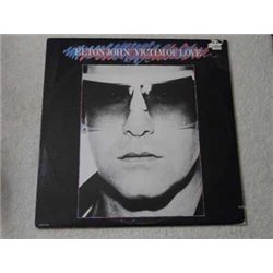 Elton John - Victim Of Love LP Vinyl Record For Sale