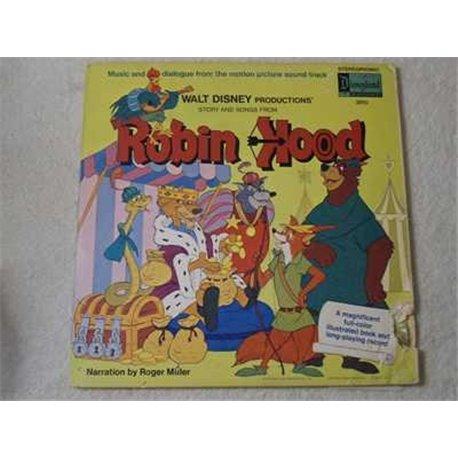 Robin+Hood+Soundtrack+Storybook+LP+Vinyl+Record