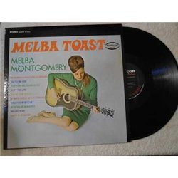 Melba+Montgomery+Melba+Toast+LP+Vinyl+Record