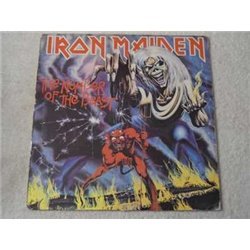 Iron+Maiden+Number+Of+The+Beast+LP+Vinyl+Record