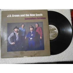 J.D. Crowe - Somewhere Between LP Vinyl Record For Sale