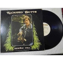 "Richard ""Dickey"" Betts - Highway Call LP Vinyl Record For Sale"