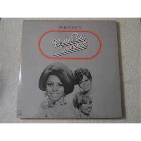 Diana Ross & The Supremes - Anthology 3xLP Vinyl Record For Sale