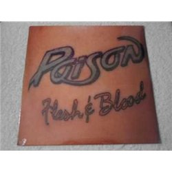 Poison - Flesh & Blood LP Vinyl Record For Sale - SEALED