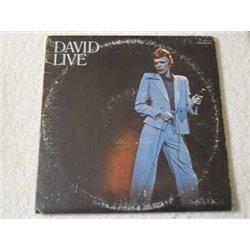David Bowie - David Live 2xLP Vinyl Record For Sale