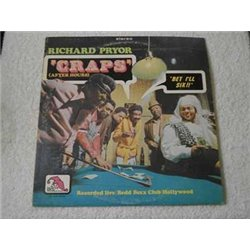"Richard Pryor - ""CRAPS"" LP Vinyl Record For Sale"