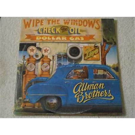 The Allman Brothers Band - Wipe The Windows LP