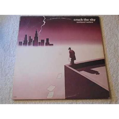 Crack The Sky - Animal Notes LP Vinyl Record For Sale