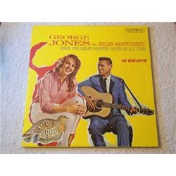 George Jones And Melba Montgomery - Country Duets LP Vinyl Record For Sale