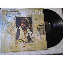 Waylon Jennings - Ol' Waylon LP Vinyl Record For Sale