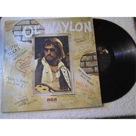Waylon Jennings - Ol' Waylon LP Vinyl Record For Sale