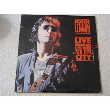 John Lennon - Live In New York City LP Vinyl Record For Sale