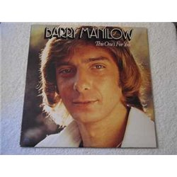 Barry Manilow - This Ones For You LP Vinyl Record For Sale