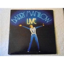 Barry Manilow - LIVE 2xLP Vinyl Record For Sale
