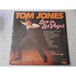 Tom Jones - Live In Las Vegas LP Vinyl Record For Sale