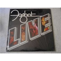 Foghat - LIVE LP Vinyl Record For Sale