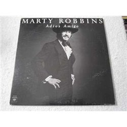 Marty Robbins - Adios Amigo LP Vinyl Record For Sale