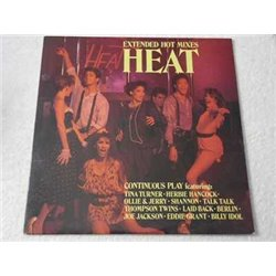 HEAT - Synth Pop Music Compilation LP Vinyl Record For Sale