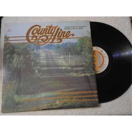 County Line - Country Music Compilation LP Vinyl Record For Sale