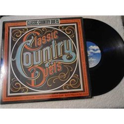 Classic Country Duets - Country Duet Compilation LP Vinyl Record For Sale