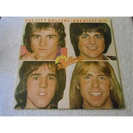 Bay City Rollers - Greatest Hits LP Vinyl Record For Sale