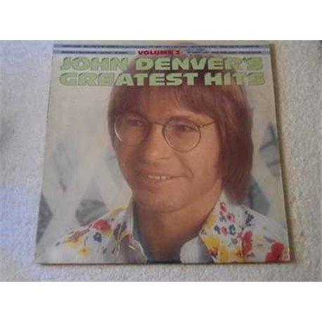 John Denver - Greatest Hits Volume 2 LP Vinyl Record For Sale
