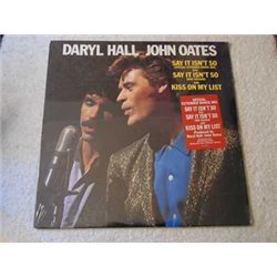 "Daryl Hall & John Oates - Say It Isn't So / Kiss On My List 12"" Vinyl Record For Sale"